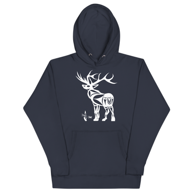 Elk - Premium Unisex Hoodie | Salish.Design: Coast Salish Art Clothing