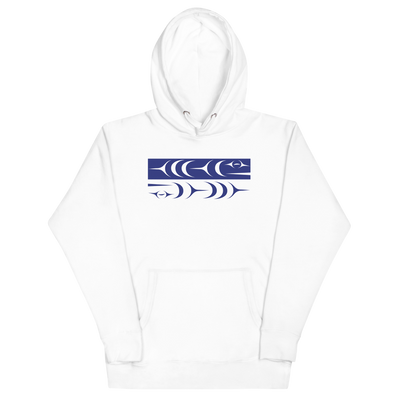 Ch'inkwu - Premium Unisex Hoodie | Salish.Design: Coast Salish Art Clothing