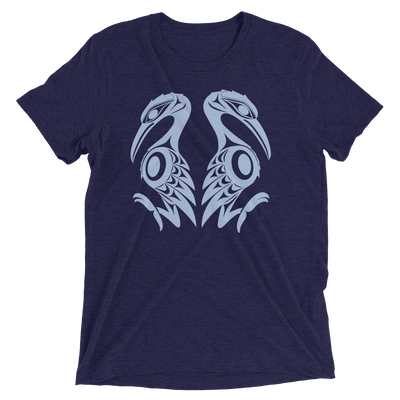 Reflections - Tri-Blend Unisex T-Shirt | Salish.Design: Coast Salish Art Clothing