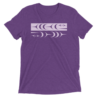 Ch'inkwu - Tri-Blend Unisex T-Shirt | Salish.Design: Coast Salish Art Clothing