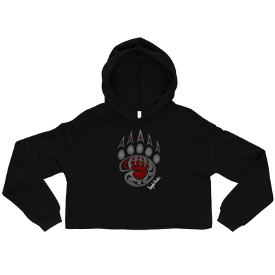 Legacy - Cropped Hoodie | Salish.Design: Coast Salish Art Clothing