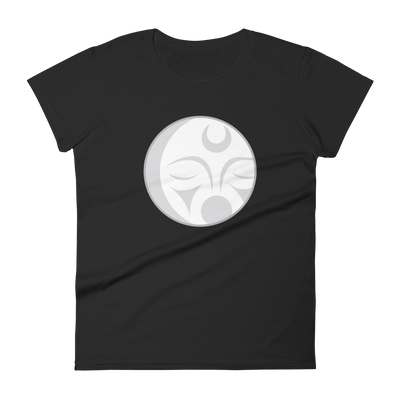 Crescent Moon - Fashion Fit T-Shirt | Salish.Design: Coast Salish Art Clothing