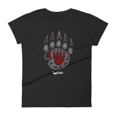 Legacy - Women's Fashion Fit T-Shirt | Salish.Design: Coast Salish Art Clothing