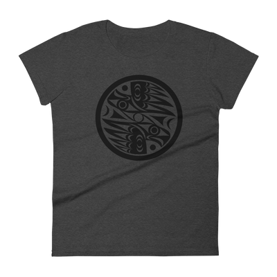 Natural Vision - Women's Fashion Fit T-Shirt | Salish.Design: Coast Salish Art Clothing
