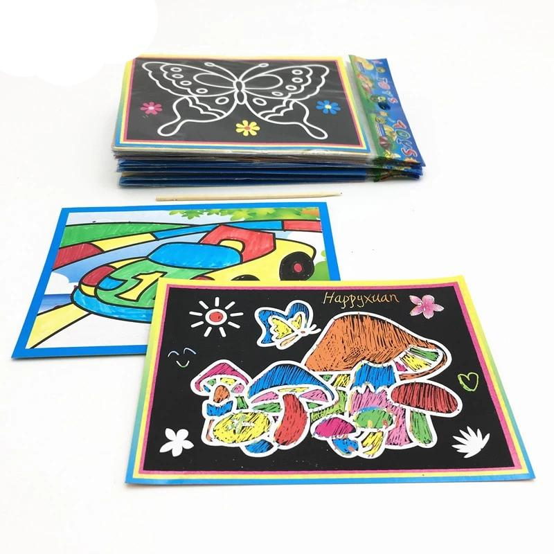 Magic Color Scratch Art Paper