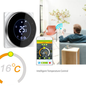 Touch Thermostat Temperature Controller ( WiFi )
