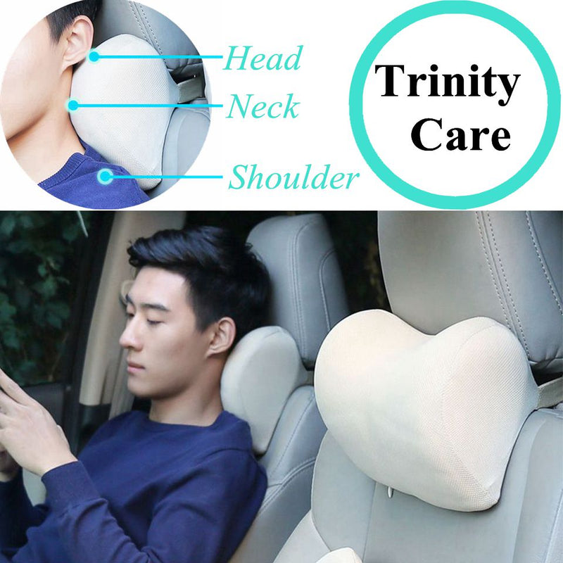 Car Headrest Neck Pillow