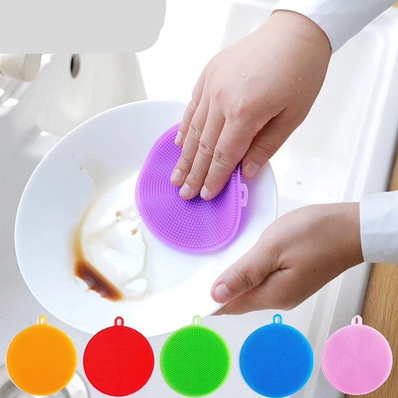 Kitchen Accessories Silicone Dish Brush