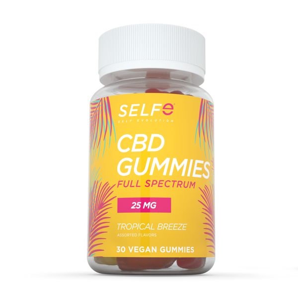 Selfe CBD Gummies - Full Spectrum / 30 Gummies / 25 mg
