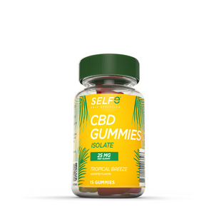 Selfe CBD Gummies - Isolate / 15 Gummies / 25 mg