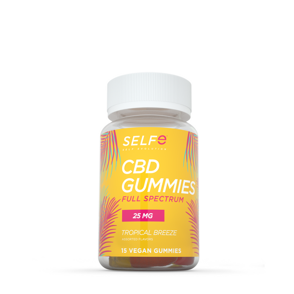 Selfe CBD Gummies - Full Spectrum / 15 Gummies / 25 mg