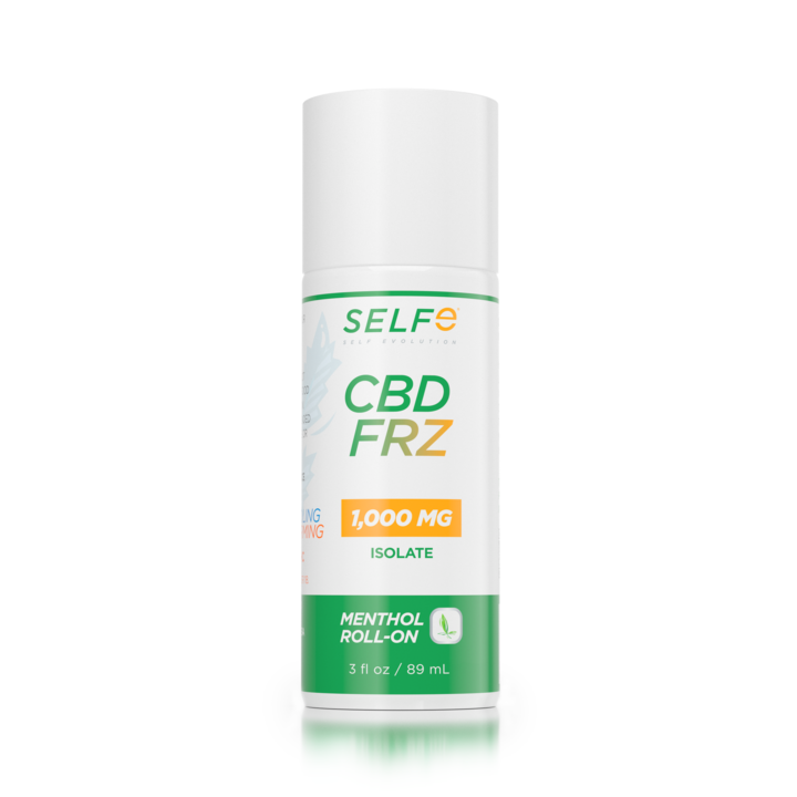 SELFe CBD FRZ Roll-On 1,000 mg Isolate