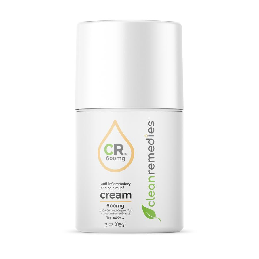 Clean Remedies CBD Pain Cream - 3OZ