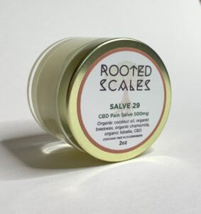Rooted Scales 500 mg CBD Pain Salve