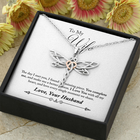Beautifully styled Dragonfly Pendant Necklace