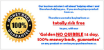 Image of No Quibble Money-Back Guarantee