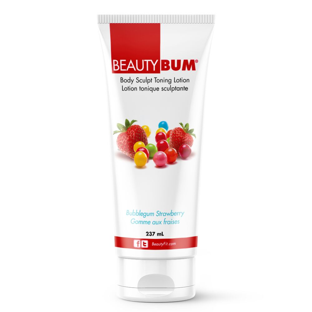 BeautyBum® Muscle Toning Lotion - Bubblegum Strawberry