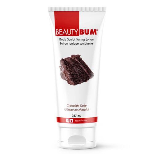 BeautyBum® Muscle Toning Lotion - Chocolate Cake