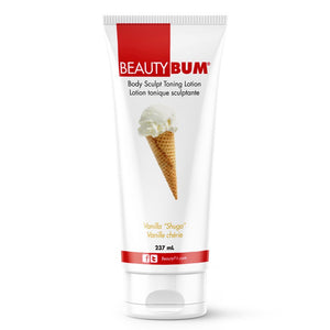 BeautyBum® Muscle Toning Lotion - Vanilla Shuga