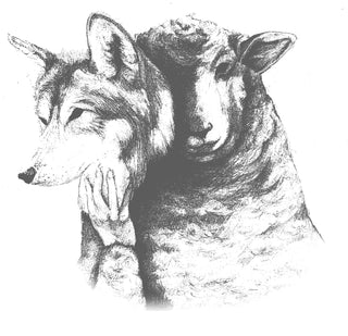 KINOTO PREMIUM STREETWEAR APPAREL FEAR THE FLOCK SHEEP IN WOLF'S CLOTHING