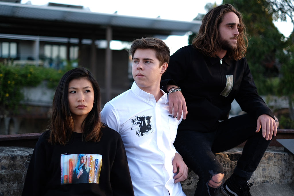 KINOTO PREMIUM ELEVATED SOPHISTICATED INDEPENDENT ALTERNATIVE STREETWEAR APPAREL CLOTHING AUSTRALIA FEAR THE FLOCK