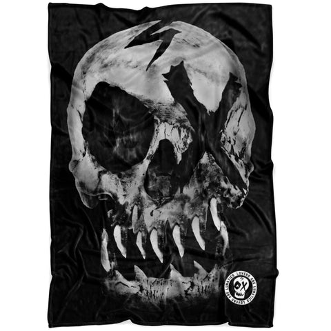 Nightmare Skull - Fleece Blanket