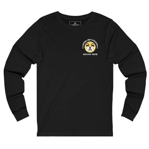 Quarantine Long Sleeve Tee - Unisex (prints on front and back)