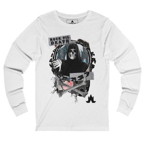 Rock Til' Death Long Sleeve Tee - Unisex