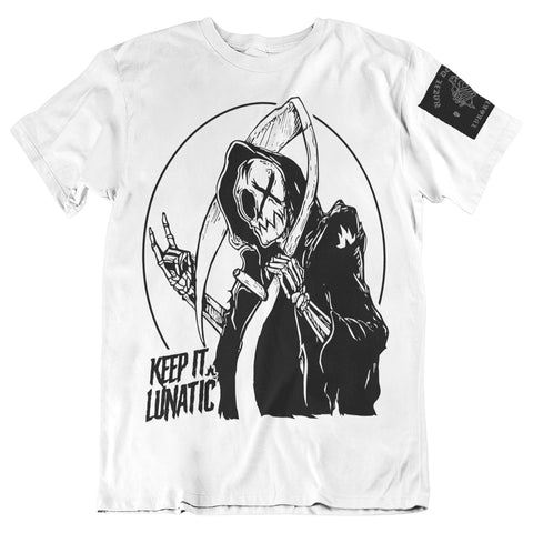 DeathReaper Tee - White - Men's - Size Medium