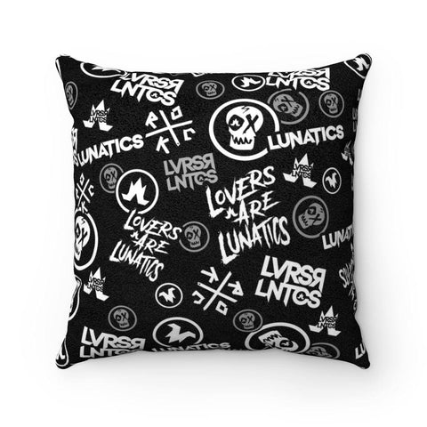 Infamous - Faux Suede Square Pillow - 4 Size Options