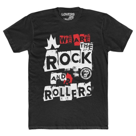 We Are The Rock + Rollers Tee - Men's