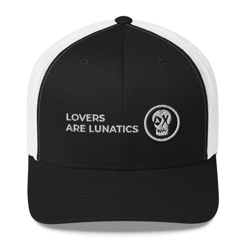 LAL Black and White Trucker Cap