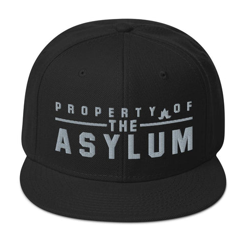 Property Of The Asylum - Grey Thread - Snapback Hat