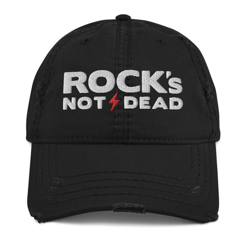 Rock's Not Dead - Distressed Hat