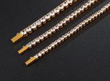 5MM Tennis Bracelet - Gold