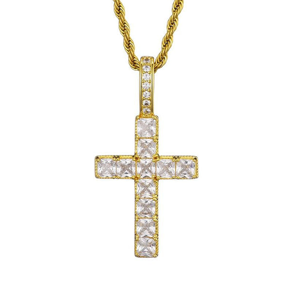 Cross Pendant - Gold