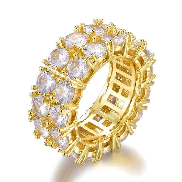 Twin Ring - Gold