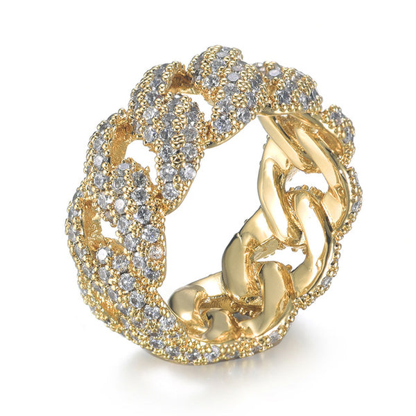 Cuban Ring - Gold