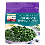 Frozen Cut Spinach, Earthbound, 300g
