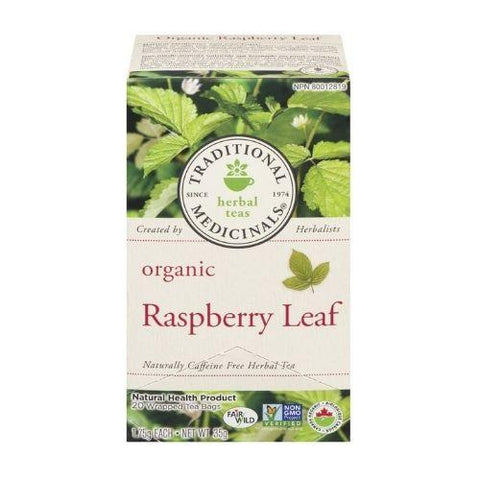 Tea, Rasberry Leaf, Traditional Medicinals 35g
