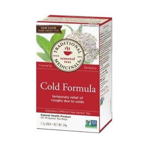 Tea, Cold Formula, Traditional Medicinals 35g