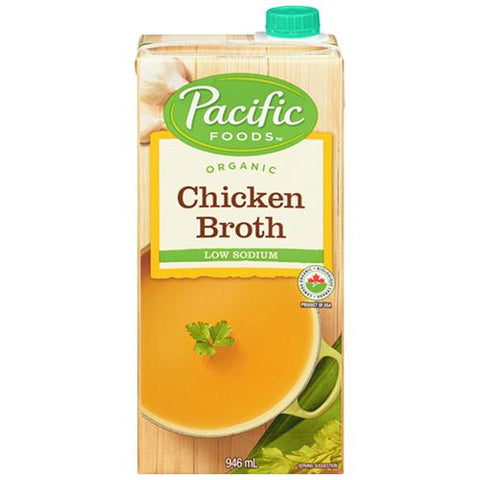 Chicken Broth, Organic, Pacific Foods 946ml