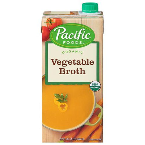 Vegetable Broth, Organic, Pacific Foods 946ml