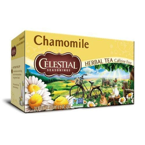 Herbal Tea, Chamomile, Celestial 20 Tea Bags