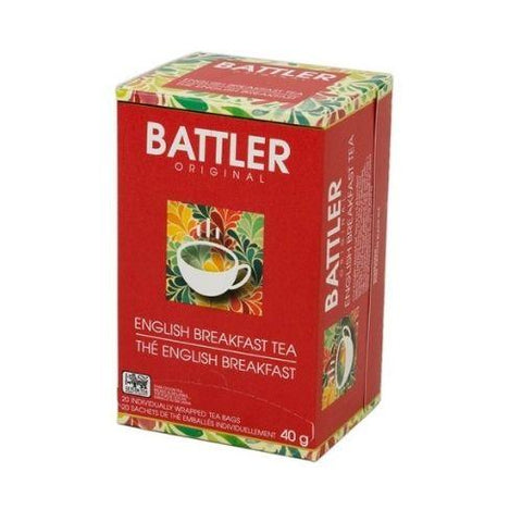 Tea, English Breakfast, Battler Original 20 Tea Bags
