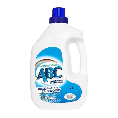Detergent, Cold Water, ABC 50 Loads