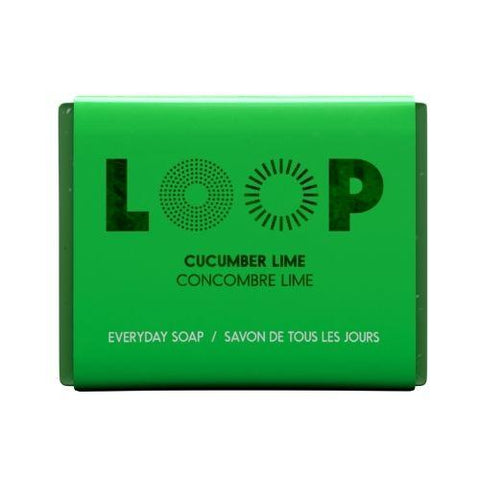 Soap, Cucumber Lime, Loop 100g