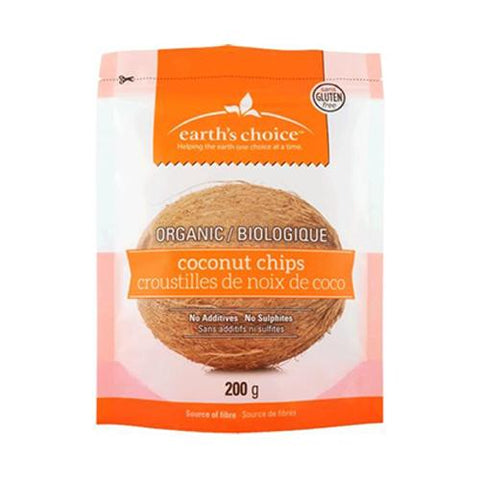 Coconut Chips, Gluten Free, Earth's Choice 200g