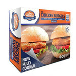 Chicken Burgers, Fully Cooked, Watson Ridge 800g