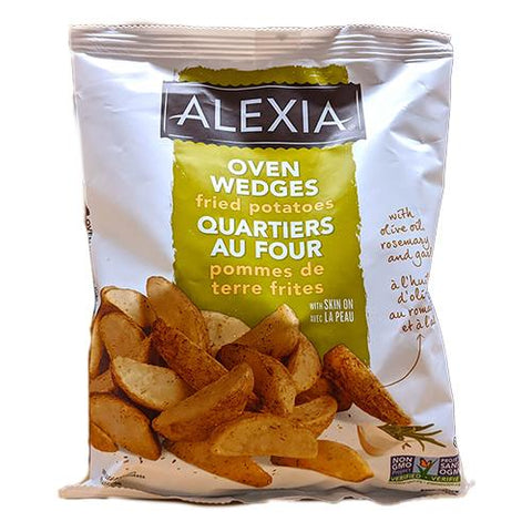 Oven Wedges, Fried Potatoes, Alexia, 450g